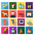 business production ecology and other web icon vector image vector image