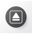 eject button icon symbol premium quality isolated vector image