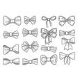 Hand drawn bow fashion tie bows accessories