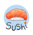 japanese food sushi2 vector image vector image