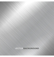 Metal brushed texture vector image vector image