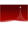 red christmas celebration vector image vector image
