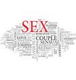 sex word cloud concept vector image