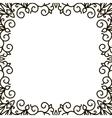 square frame patterns vector image