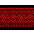 ukrainian pattern ornament vector image