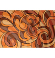 Abstract tribal-inspired background vector image vector image