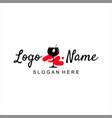 bar logo design simple template idea vector image vector image