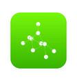 ethyl acetate icon green vector image vector image