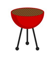 isolated barbecue grill icon vector image