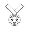 kawaii medal of honor vector image vector image