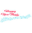 merry christmas happy new year winter holidays vector image