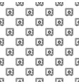 money safe pattern seamless vector image