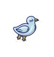 sea bird vector image vector image