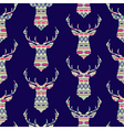 seamless colorful decorative ethnic pattern with vector image vector image