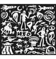 space aliens - doodles vector image vector image