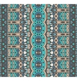 striped ornamental seamless pattern vector image vector image