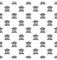 bank building pattern seamless vector image vector image
