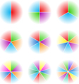 Collection of nine cyclic vector image