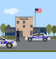 police station image vector image vector image