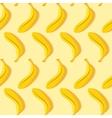 seamless pattern yellow banana vector image vector image