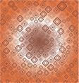 seamless retro background from squares vector image