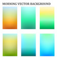 abstract colorful in the moring blur template vector image vector image