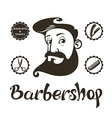 Barber Shop design elements vector image