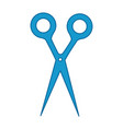 hair scissors icon vector image vector image