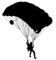 jumper black and white silhouettes vector image vector image