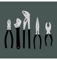 A collection of simple tool vector image