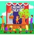 Amateur Children Theatre Performance Of A Fairy vector image vector image