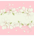apple blossom frame background