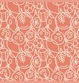 beautiful monochrome seamless pattern vector image vector image