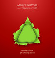 Christmas tree paper vector | Price: 1 Credit (USD $1)