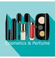 cosmetics and perfume vector image
