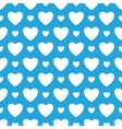 Oktoberfest blue background with white hearts vector image vector image