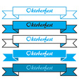 Oktoberfest simple banners vector image