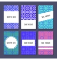 Set of perfect card templates vector image