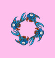 swirl fish vector image vector image