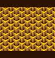 3d hexagonal geometry model texture background vector image