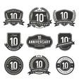anniversary label 10 years