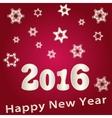 Beautiful Happy New Year 2016 vector image
