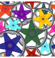 Colors pattern wheels for car vector image vector image
