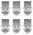 Emotion icon vector image vector image
