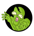 icon monster vector image