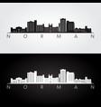 Norman oklahoma skyline and landmarks