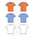of man tee vector image