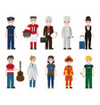 set of workers vector image