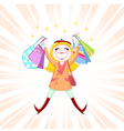 Shopping is fun vector | Price: 3 Credits (USD $3)