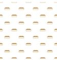 Waffle sandwich with ice cream pattern vector image